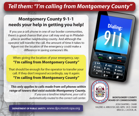MontCo EDS 911- On the border MontCo EDS