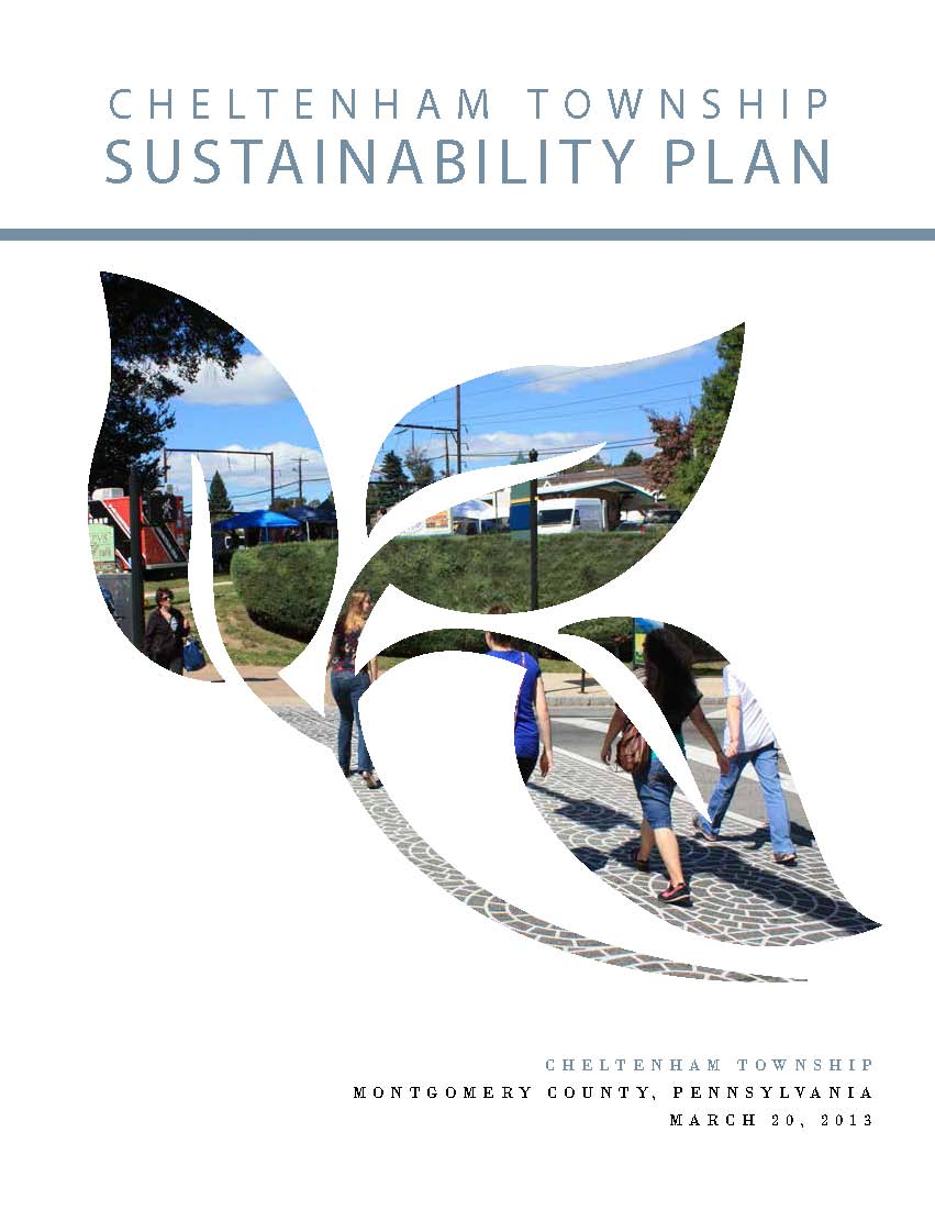 Cover artwork of the Sustainability Plan